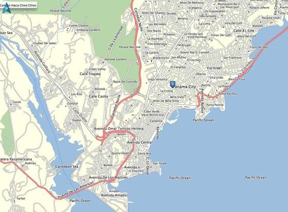 1 Ranked by US Gov Panama-GPS